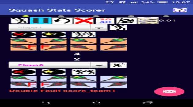 Squash Stats Scorer