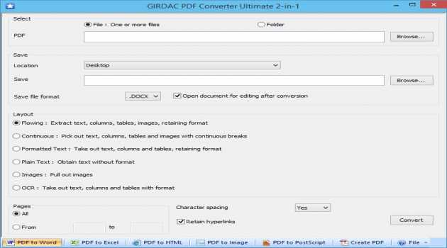 PDF Converter Ultimate Two in One