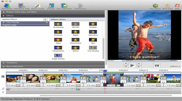 Photostage Slideshow Creator Pro for Mac