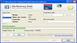 F-Recovery for CompactFlash