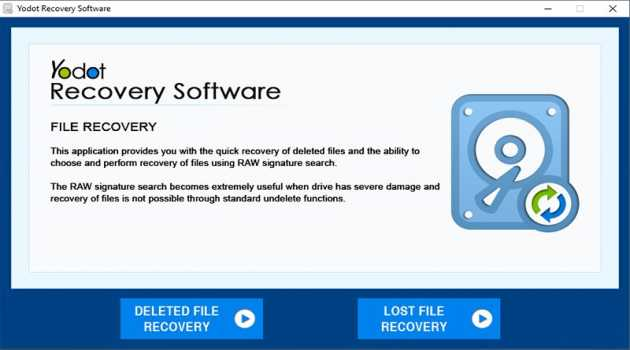 Yodot File Recovery Windows