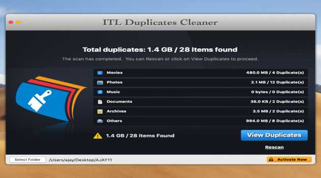 ITL Duplicates Cleaner