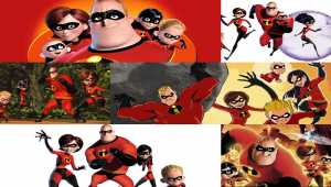 The Incredibles Windows Theme