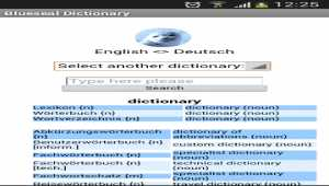 Blueseal Dictionary