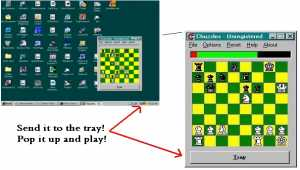 Chuzzles Chess Puzzles Pop-up For Your Desktop