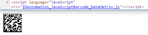 GS1 DataMatrix JavaScript Generator