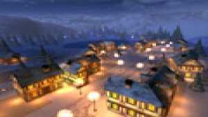 Winternacht 3D Bildschirmschoner