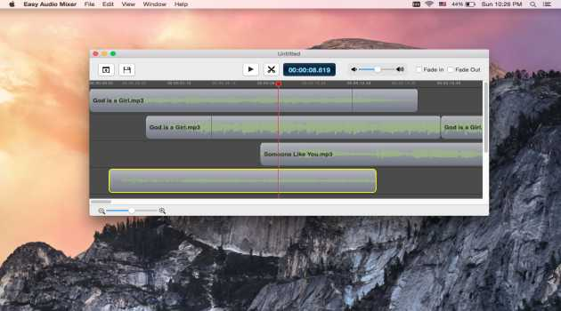 Easy audio mixer for mac