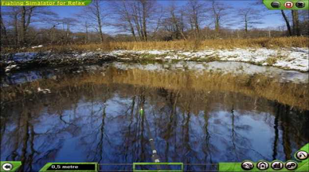 Fishing-Simulator for Relaxation