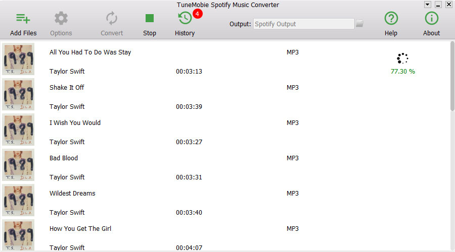 TuneMobie Spotify Music Converter 1 0 1 - Download Spotify