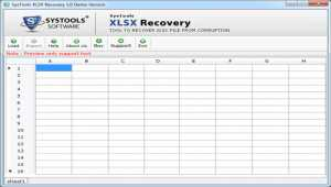 XLSX Recovery Tool