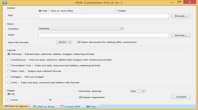 PDF Converter Pro Two in One
