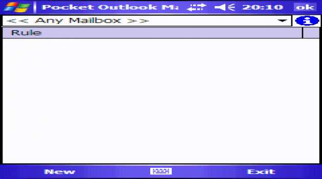 Pocket Outlook Mail Organizer