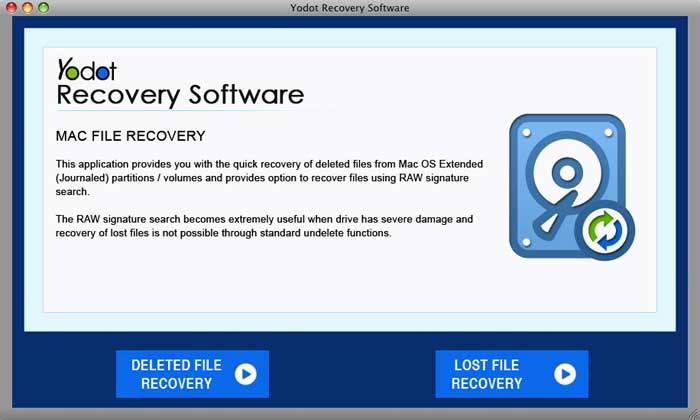 Yodot Mac File Recovery Software