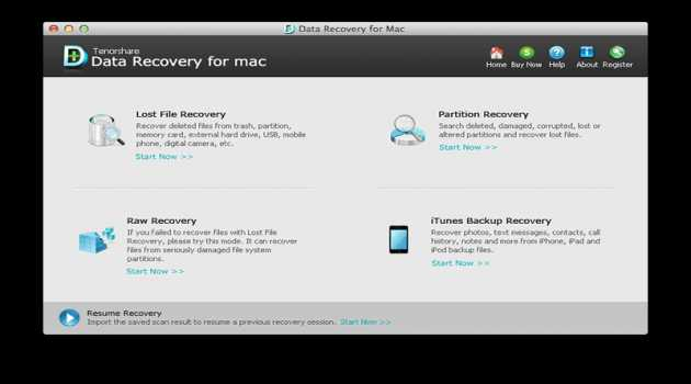 Tenorshare 4DDiG Data Recovery for Mac