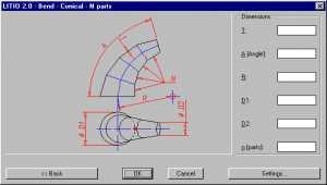 LITIO2 3D Sheet metal unfolding soft