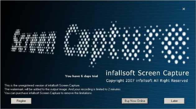 infallsoft Screen Capture