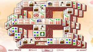 Snowy Window Mahjong