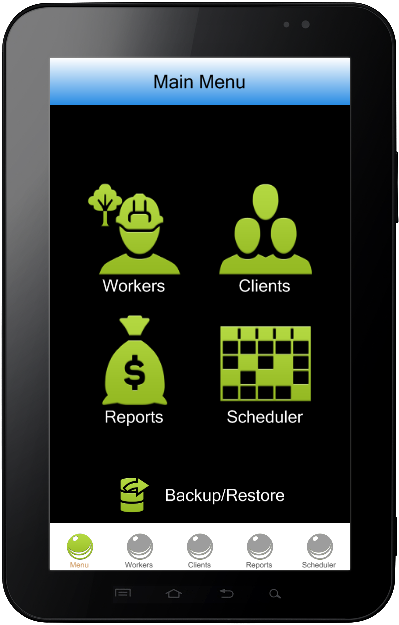 Lawn Care Software for Mobile