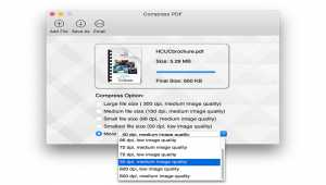 Compress PDF for Mac