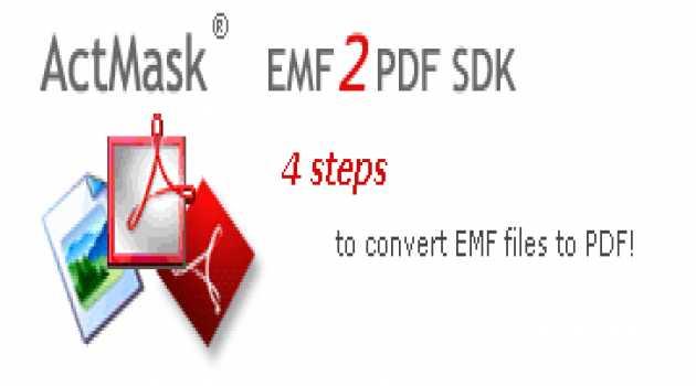 ActMask EMF2PDF SDK