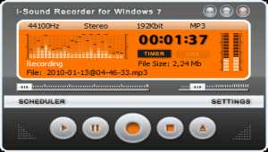 i-Sound Recorder for Windows 7/10