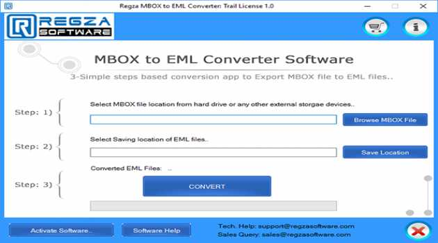 MBOX to EML