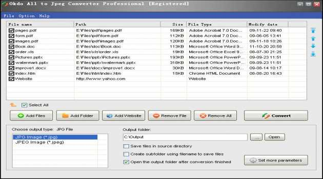 Okdo All to Jpeg Converter Professional