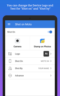 ShotOn for Motorola: Auto Add Shot on Photo Stamp