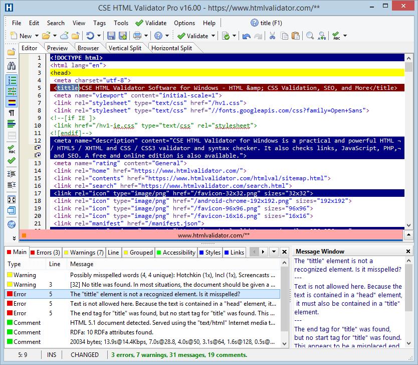 CSS HTML Validator Pro 2020