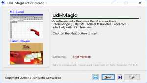 udiMagic Excel to Tally