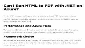 Azure PDF