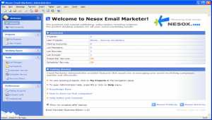Nesox Email Marketer Personal Edition