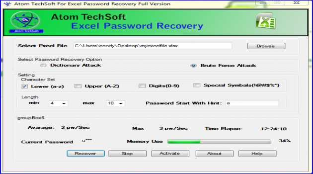 Remove Password From Excel 2016