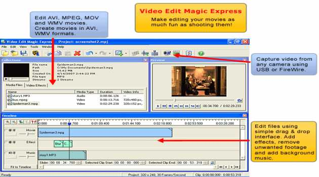 Video Edit Magic Express