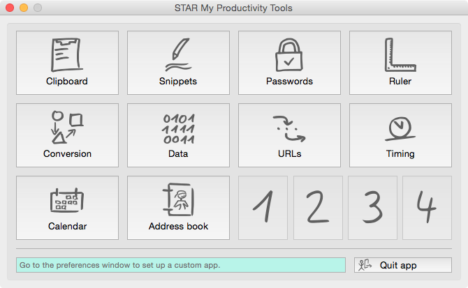 STAR My Productivity Tools for Mac
