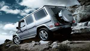 Mercedes G class ScreenSaver