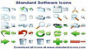 Standard Software Icons