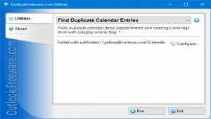 Find Duplicate Calendar Entries