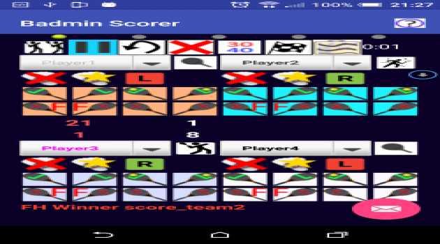 Badmin Scorer