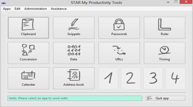 STAR My Productivity Tools for Windows