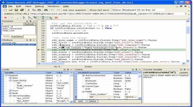 Team Remote ASP Debugger PRO