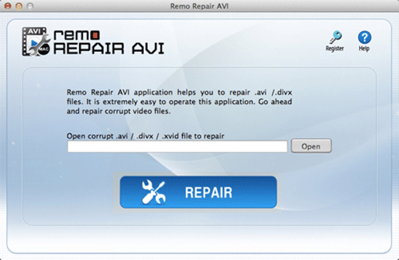 Remo Repair AVI Mac