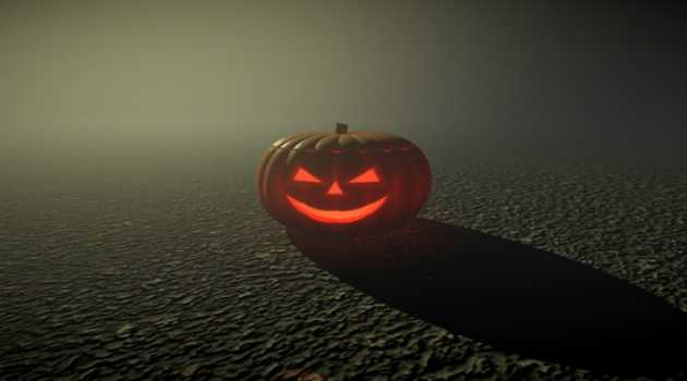 Pumpkin Mystery 3D Screensaver