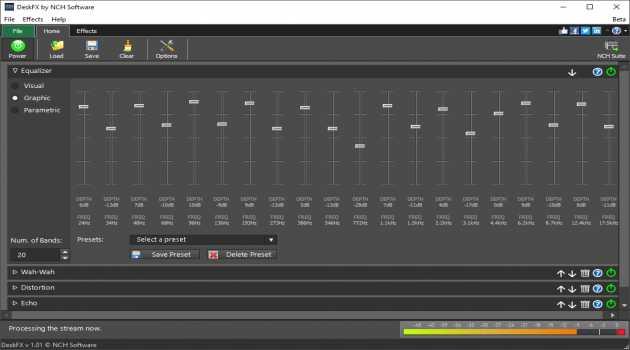 DeskFX Audio Enhancer Plus for Mac