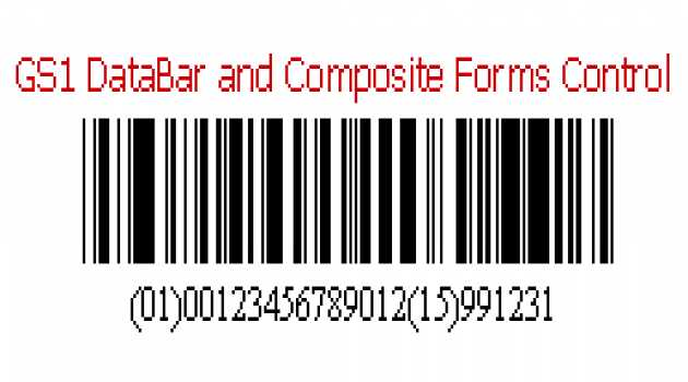 .NET Windows Forms Control for DataBar