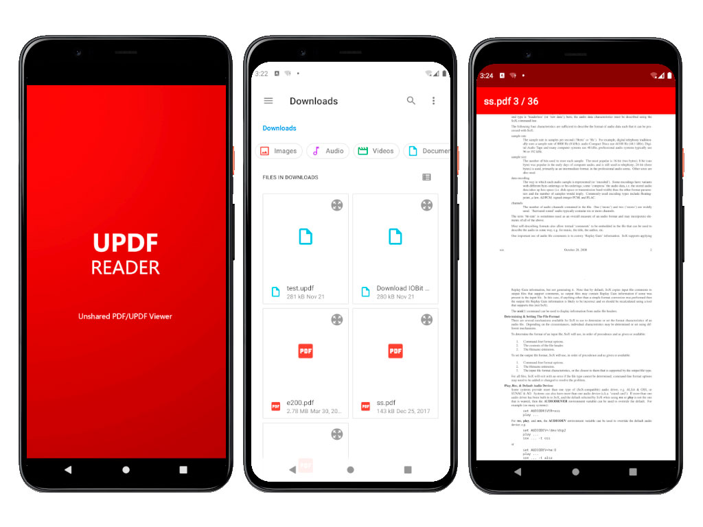 UPDF Reader for Android