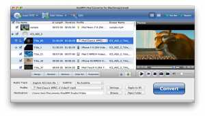 AnyMP4 iPod Converter for Mac