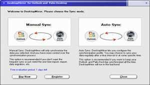 DesktopMirror for Outlook Palm Desktop