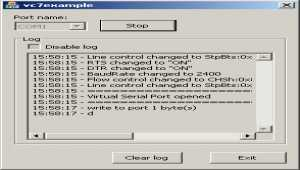 Serial Port Sniffer ActiveX Control